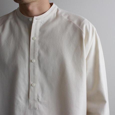 cotton flannel/raglan shirt/Ivory/size2(MAN)