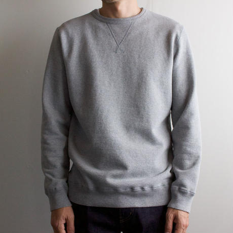 dry fleecy fabric/sweatshirt/size2/heather gray