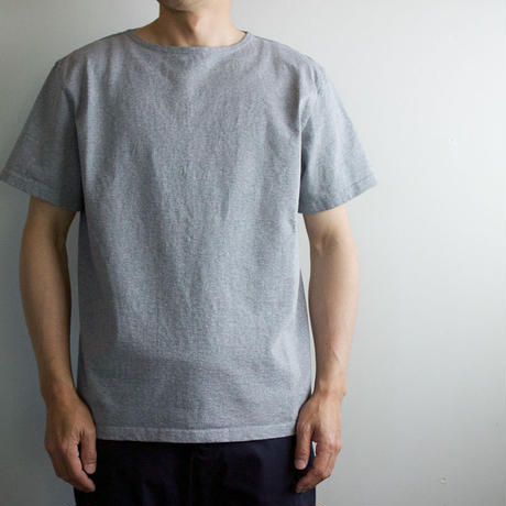 pablo cotton/center back tshirt / gray heather/size3