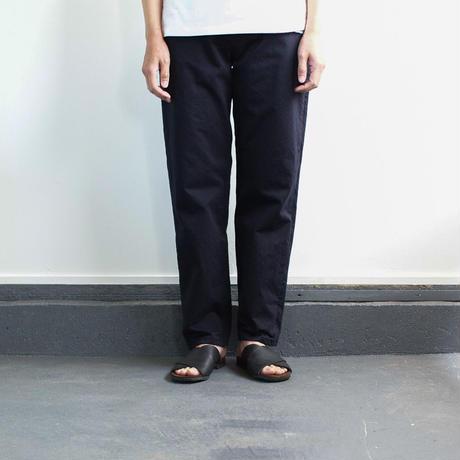 cotton twill pants/navy