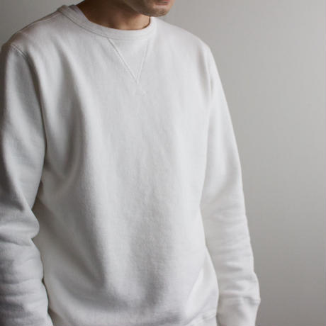 dry fleecy fabric/sweatshirt/size2/white