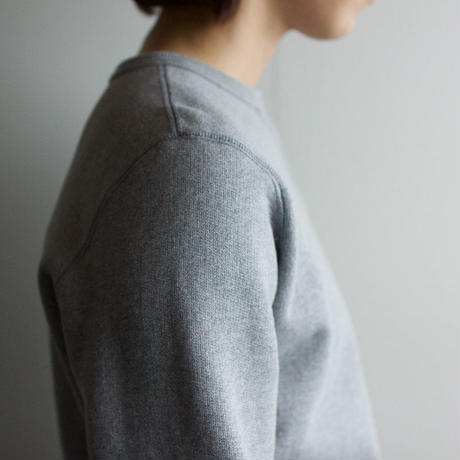 dry fleecy fabric/sweatshirt/size1/heather gray