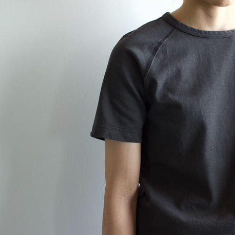 pablo cotton/raglan high density cut and sewn/charcoal gray