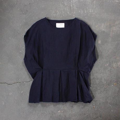 cape sleeve linen tops /NV