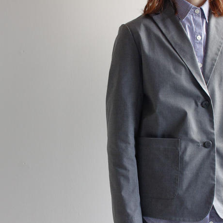 tailored jacket/gray