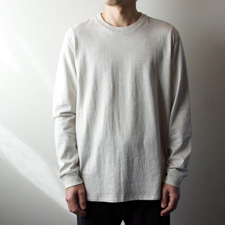 combed yarn /enbroidery mark tshirt/oatmeal/size2