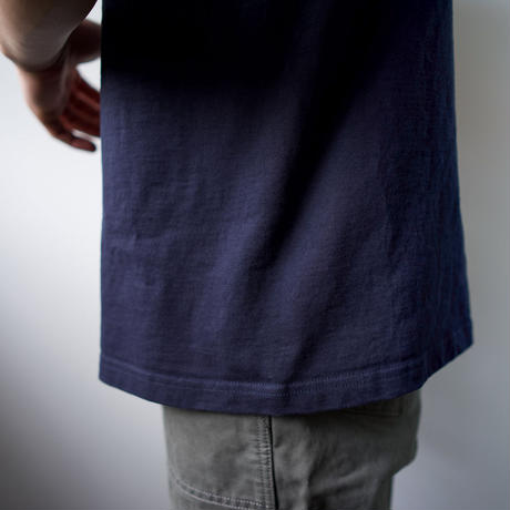 pablo cotton/center back tshirt / navy/size3