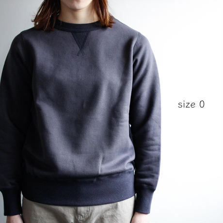 sulfide dyed sweat tops/navy