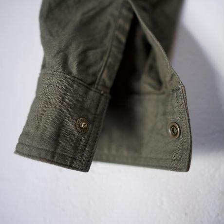cotton ox work shirt/khaki/size2