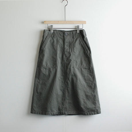 army cord/baker skirt/khaki