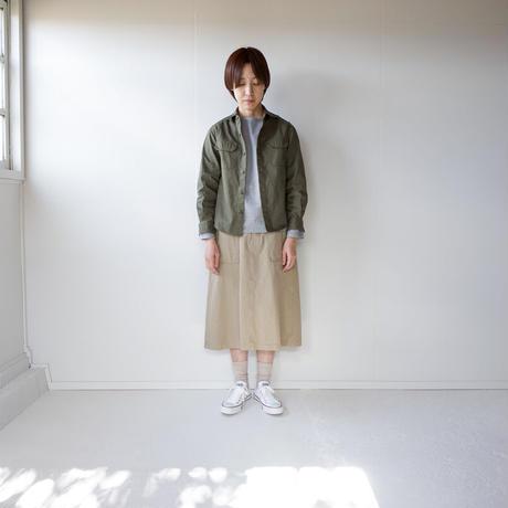 cotton ox work shirt/khaki/size1