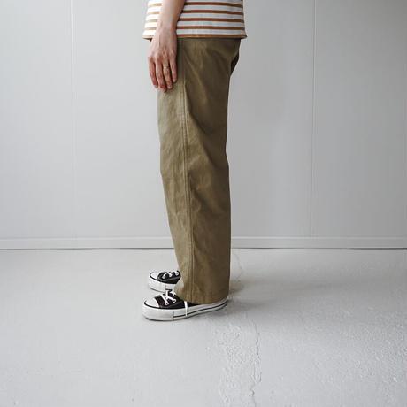 chino cotton pants/pale khaki