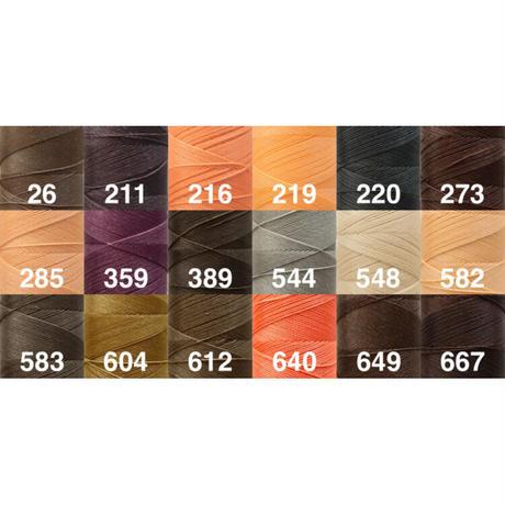 【まとめて割対象】Linhasita社製ワックスコード0.75mm . 長さ210m(ロウビキ紐・蝋引き紐 ・waxcord)