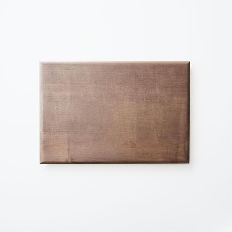 板皿32.5cm (イタヤカエデ / 柿渋染) 内田悠