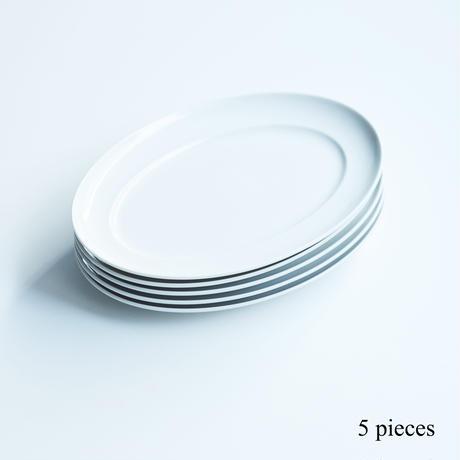 オーバルプレート FOOD FOR THOUGHT  5枚set