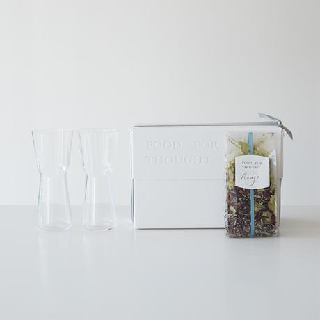 モールグラスと紅茶(ルージュ)のset