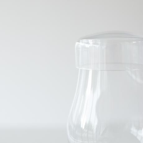 ハンドメイド 蓋つきグラス  6脚セット