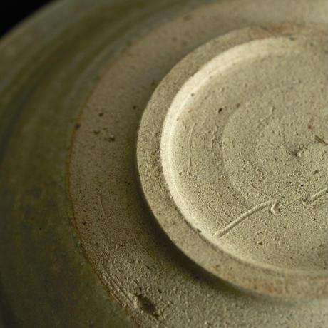 6 共土釉 リム皿 8寸 山田隆太郎