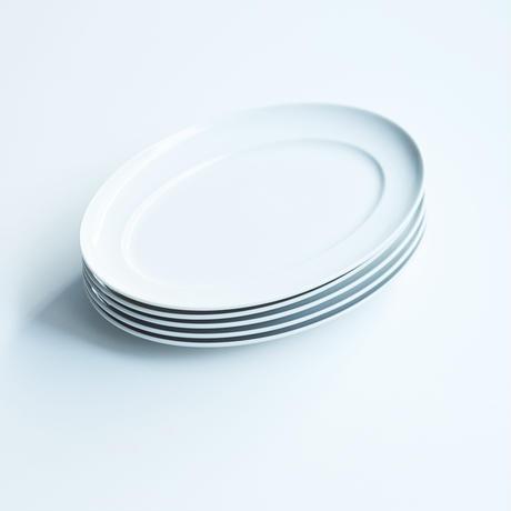 オーバルプレート FOOD FOR THOUGHT  4枚set