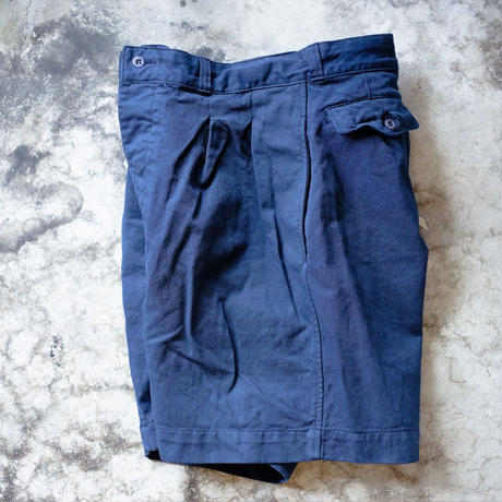 <Last 1>DEAD STOCK / FRENCH ARMY CHINO SHORTS - OVER DYE