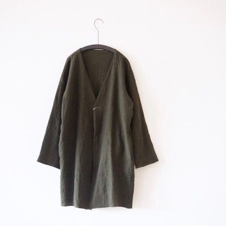 MUYA / Livery Wool Coat - Khaki