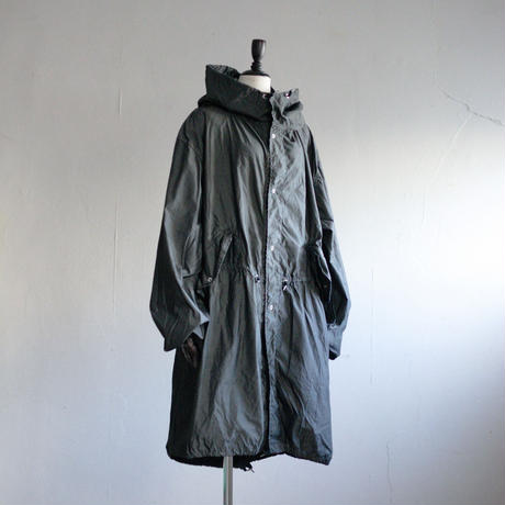 80's US ARMY SNOW PARKA - 後染めBLACK