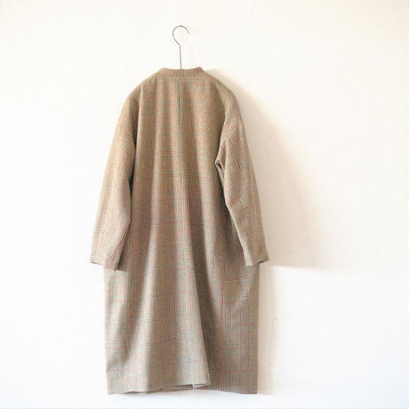Tailor The Dress / Mao-Collar Coat  / Tweed (Men's)