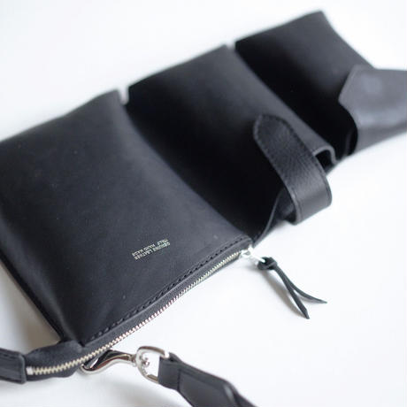 Leather 3pocket pouch