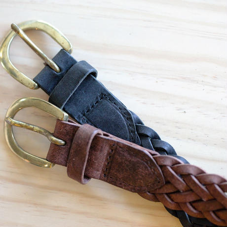 Leather mesh Belt (2.4cm)