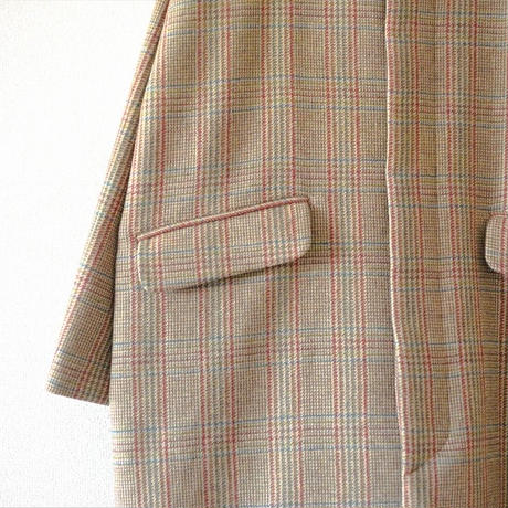 Tailor The Dress / Mao-Collar Coat  / Tweed (Lady's)