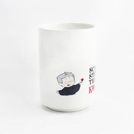 【怪談社】イラスト湯呑 Y01