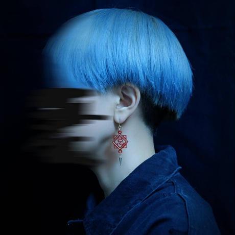 【愚工装飾】【愚工装飾】BAD EMOTION series 「忌」ピアス・イヤリング IG-B05・B06