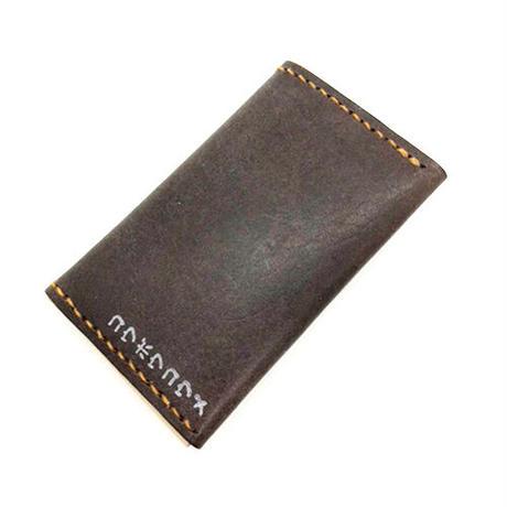 【コウボウコウメ】オトモメダマ レザーカードケース IK-C02