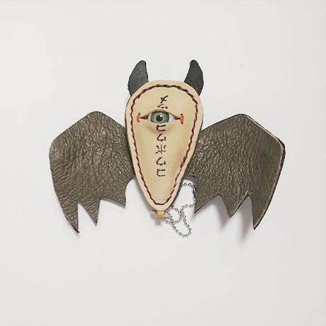 【コウボウコウメ】 オトモメダマ コウモリキーホルダー IK-K09