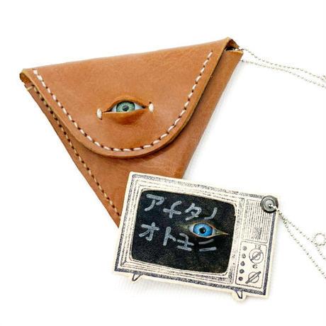 【コウボウコウメ】オトモメダマさんかくコインケース IK-C04