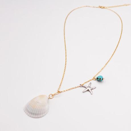 【牛抱せん夏】ネックレス「人魚の呪い」 IU-NA01