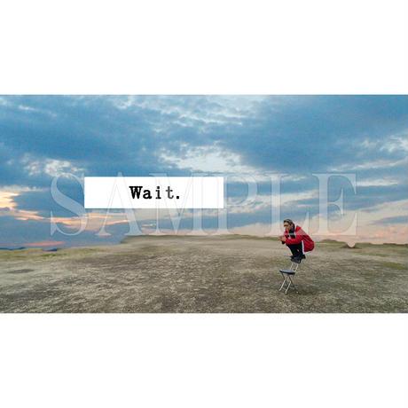 【C yana】Tシャツ「 Wait. 」(期間限定)IC-T06-01-23