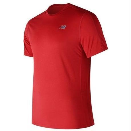 new balance/ニューバランス/アクセレレイトショートスリーブTシャツ(チームレッド)【AMT73061-REP】