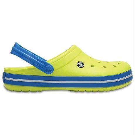 【crocs/サンダル】crocs/クロックス/CrocbandClog/クロックバンド クロッグ(Tennis Ball Green/Ocean)【11016-73E】