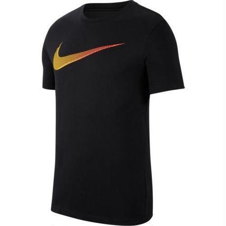 【トレーニング】NIKE/ナイキ/DRI-FIT DFCT 2YEAR SWO S/S Tシャツ(ブラック/レーザーオレンジ)【AR5969-015】