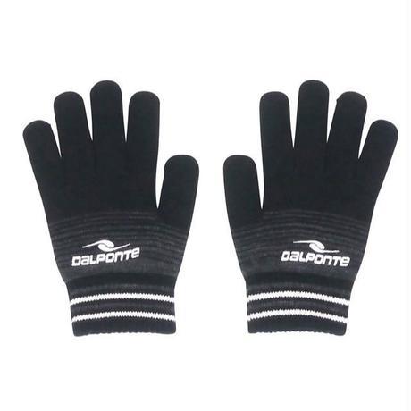 DALPONTE/ダウポンチ/ニット手袋(ブラック)【DPZ0284-BLK】
