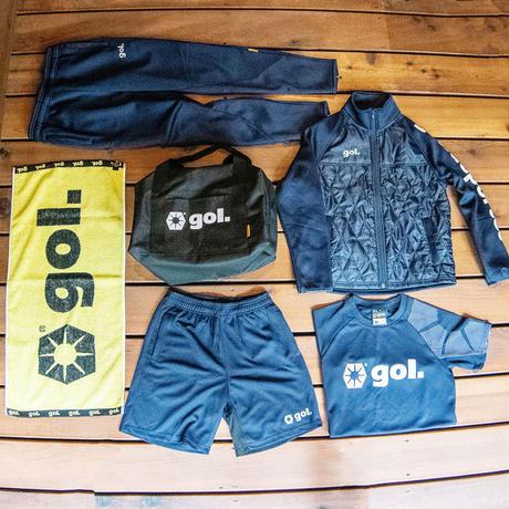 【フットサル/送料無料】gol/ゴル/お買い得6点セット(ジュニアサイズ) 【G875-223】