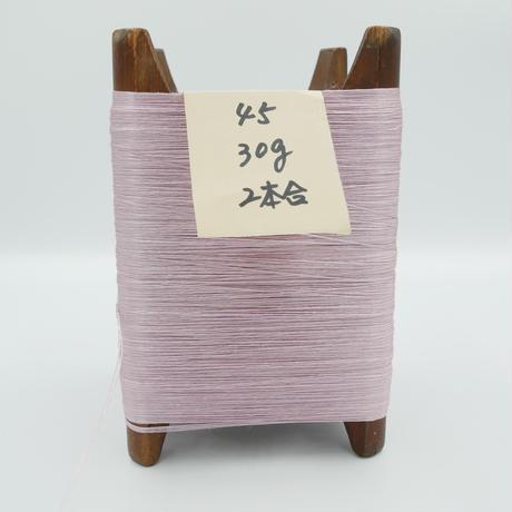 国産絹糸 江州だるま糸 西陣織で使われている手機用緯糸 木枠付き no.45