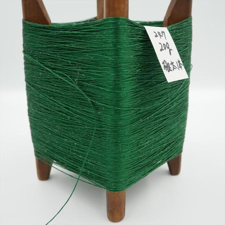 国産絹糸 江州だるま糸 西陣織で使われている手機用緯糸 木枠付き no.247