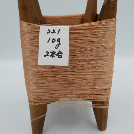 国産絹糸 江州だるま糸 西陣織で使われている手機用緯糸 木枠付き no.221