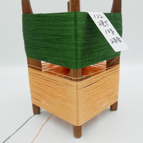 国産絹糸 江州だるま糸 西陣織で使われている手機用緯糸 木枠付き no.122