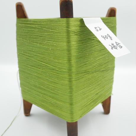 国産絹糸 江州だるま糸 西陣織で使われている手機用緯糸 木枠付き no.52