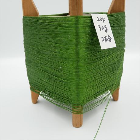 国産絹糸 江州だるま糸 西陣織で使われている手機用緯糸 木枠付き no.244