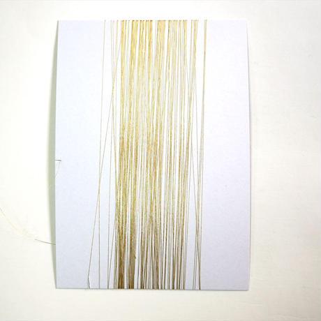 西陣織で使われている 一掛け 本金糸