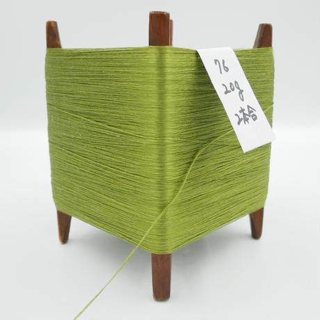 国産絹糸 江州だるま糸 西陣織で使われている手機用緯糸 木枠付き no.76